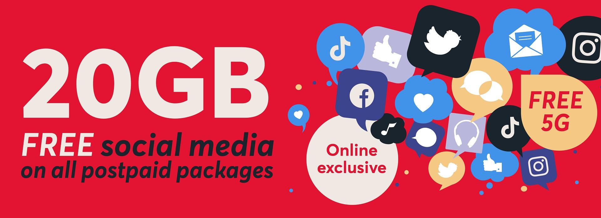 Online exclusive postpaid En P